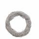 Kranz SALIM, loose, diameter 25 cm, white
